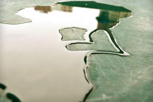 What is left from rain. by Suzzih