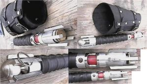 Sith Lightsaber by dthorne
