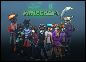 Lost In Minecraft fanart by Kitsuneko00