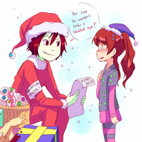 Christmas list by Leaglem