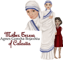 Mother Teresa by innatedreamer