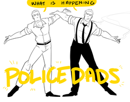 Police Dads by inside-under