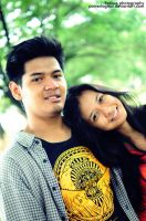 Dodit and Intan 01 by powerlogical