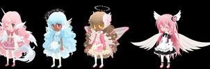 Free Moe Angel Selfy Adoptables [CLOSED] by cutieselfies