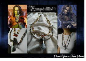 Once Upon a Time: Rumplestiltskin Necklace by DOC-Ash1391