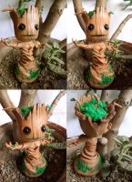 Little Groot - Guardians of the Galaxy - comission by yuisama