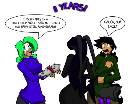 Sins 11 Years by SinComics