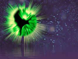 Green Explosion by kaolincash