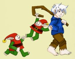 Jack and Elves by earthstar