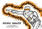 Atomic Ranger sketch by shellpresto