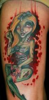 zombie girl by Phedre1985