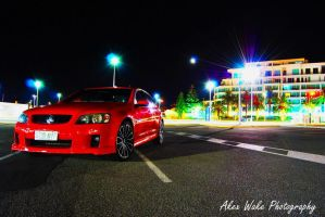 Alex Wake Photography shoot feat. Big Bad Red by Kargroth