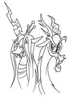 Discord and Chrysalis (Work-in-Progress) by FractiousLemon