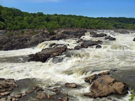 Great Falls of the Potomac 44 by Dracoart-Stock
