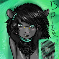 Bolide Portrait by Demi