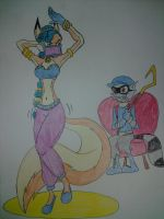 Happy Valentines Day, Sly Cooper! by Zigwolf
