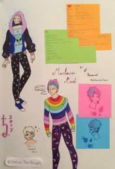 Marlowe Reed Reference Page by SaturnTheAlmighty