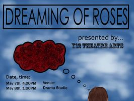Dreaming of Roses Poster by freaky06