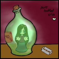 Bottled by noelani-uki
