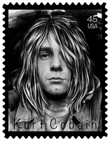 Kurt Cobain by SandraInk