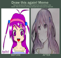 Draw this again meme by AngelAceX