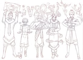 Avatar: Diversity - WIP by Acaciathorn