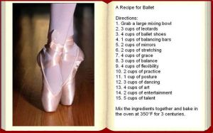 A Recipe for Ballet by Greensister125