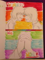 Gay Marriage is Now Legal by Webkidbelle