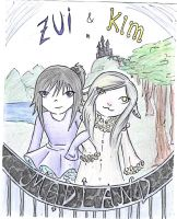 Zui and Kim in madland by zilah13