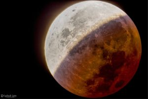 Lunar Eclipse Phase U3 HDR by CyclicalCore
