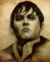 Portrait of Barnabas Collins by MintZhet
