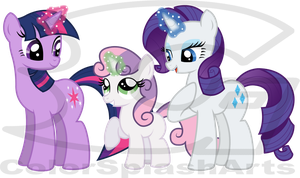 MLP: Sweetie Bell's Magic Lesson by DivineSpiritual
