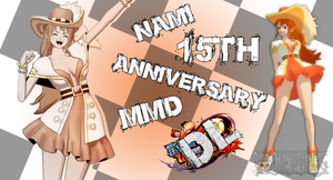 MMD One Piece Nami 15th Anniversary DL (Updated) by Friends4Never