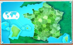 France - Departments by Katephos