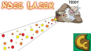 Teddy's Nose Laser by Gamex4000