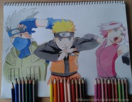 Team Kakashi by NikkouViolet