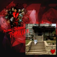 IN FRONT OF THRILLER HOUSE by KerensaW