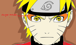 SAGE MODE NARUTO by PANDA-monium1