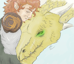 Bilbo Baggins Dragon Trainer AU by Orikunie