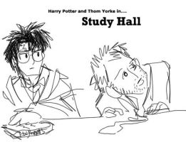 Thom Yorke goes to Hogwarts by cadet