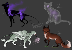 Point adoptables {SPECIALS} - closed by Nuklear-Bunnies