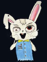 The Easter Bunny Resubmit by the-denied