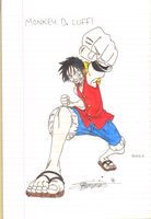 Monkey D Luffy by reklesmayhem