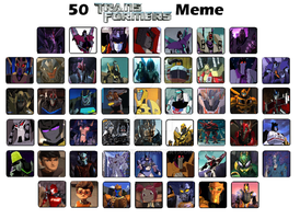 TF: 50 fav characters Meme by xero87