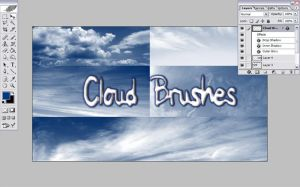 Cloud Brushes by Resaturatez