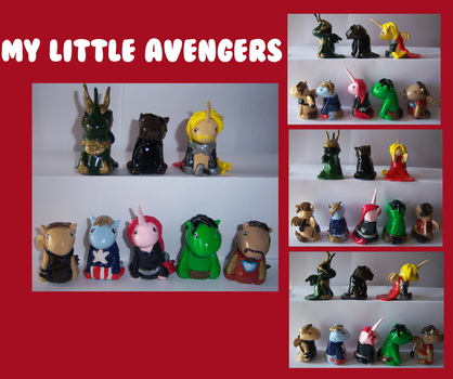 My Little Avengers by IcyPanther1