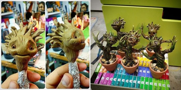Baby Groot toys by EatToast