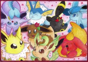 Eeveelutions by Km92