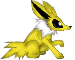 Jolteon - Request by PlagueDogs123