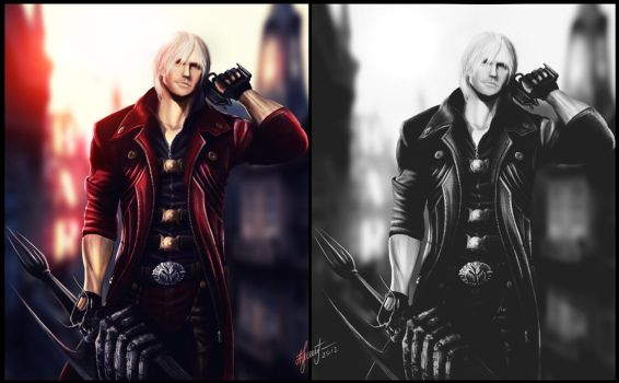 Dante (Devil May Cry) by Lensar